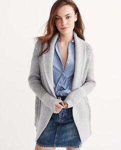 ABERCROMBIE & FITCH OPEN CARDIGAN-BRAND NEW WITH TAGS!