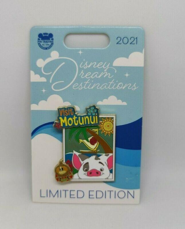 Moana Pua Kakamora Visit Motunui Disney Dream Destinations 2021 Disney Pin