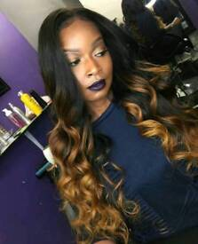 CLOSURE/FRONTALS/FULL WEAVES/VERSATILE WEAVES/WEAVES WITH LEAVE OUT, STYLES FROM £40