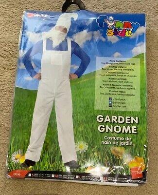 Mens Smiffys Gnome Smurf Stag Halloween Fancy Dress - Smurf Halloween Kostüm