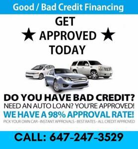 #1 DEALER FOR GOOD / BAD CREDIT LOANS *** HIGHEST REVIEWS *** WE CAN HELP YOU! CAR LOANS