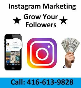 Grow Your Instagram from $25/ Month!*** FREE Trial for 7 days! Gain REAL targeted followers!  - Social Media Marketing!