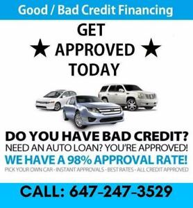 #1 DEALER FOR GOOD / BAD CREDIT LOANS *** HIGHEST REVIEWS *** WE CAN HELP YOU! TOYOTA, HONA, ACURA, LEXUS, INFINITI AUDI