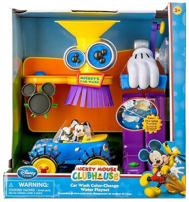 Disney Mickey Mouse Clubhouse Car Wash Color-Change Water Exclusive