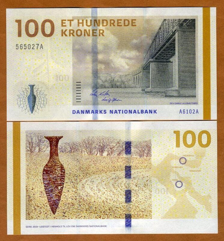 Denmark, 100 Kroner, 2009 (2010), Pick 66, UNC