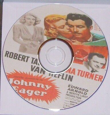 FILM NOIR 196: JOHNNY EAGER 1941 Mervyn LeRoy, Taylor, Turner, Van Heflin