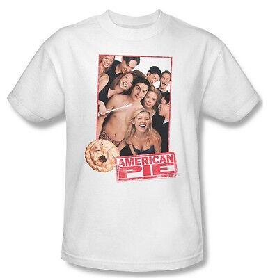 American Pie T-shirt Free Shipping 100 % cotton movie poster tee UNI307