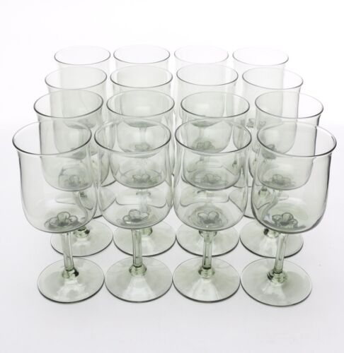"LENOX GREEN MIST WINE GLASS - 6 1/4"" x 2 1/2"" 0203I"