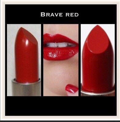 "Mac Authentic Lipstick ""brave Red "" Color"