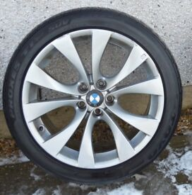 Genuine BMW X5 Sport E70 227 M front alloy wheel and tyre