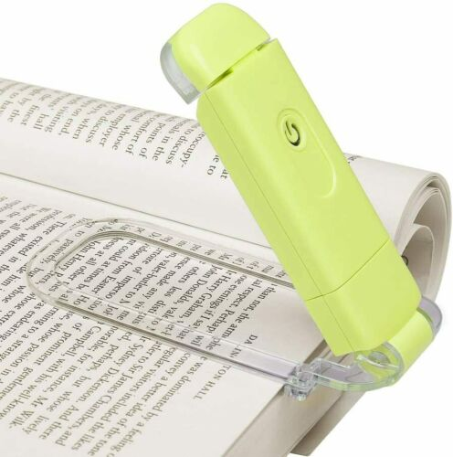 DEWENWILS LED USB Rechargeable Book Light Reading in Bed Warm White LED Clip on
