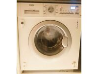 AEG L61271WDBI Integrated Washer Dryer, 7kg Wash/4kg Dry Load, 1200rpm Spin