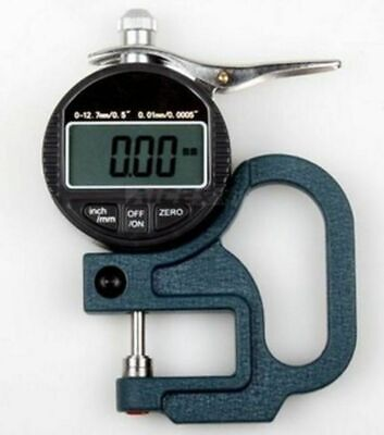 New Precision Digital Thickness Gauge Micron 0.001-12.7mm