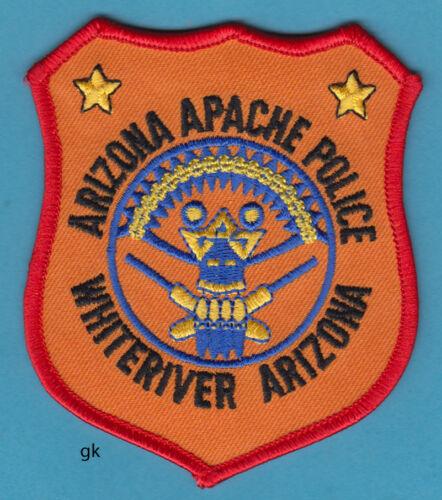 ARIZONA APACHE POLICE WHITERIVER TRIBAL SHOULDER PATCH