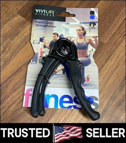 2 Hand Grip Trainer Gripper Strengthener Adjustable Gym Wrist Strength Exerciser
