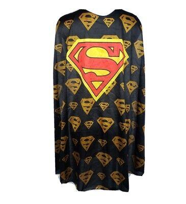Superman Cape Halloween Costume Dress Up Superhero DC Adult Teen One size