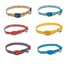 Safe Breakaway Collar for Cat Magnetic Buckle Adjustable Maximum safety EACH