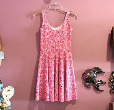 Princess Bubblegum Clothes (Black Milk Clothing Princess Bubblegum Skater Dress Adventure Time Size Small S)