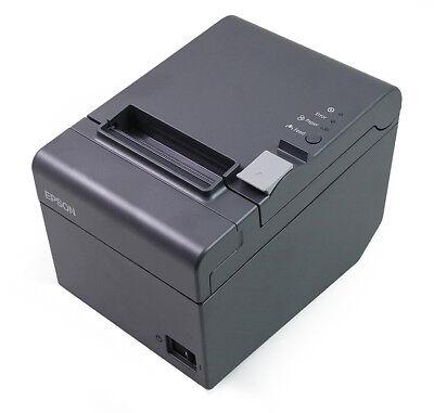 Tm-t20-023 Epson Thermal Receipt Printer Ethernet Interface Dark Grey New