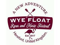 Wye Float River and Music Festival 2018 Tickets x2