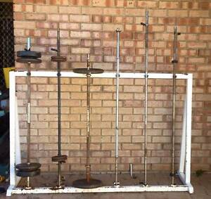 Barbell Rack (Barbells not included) Waikiki Rockingham Area Preview