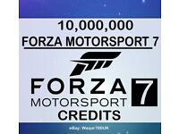 Forza 7 credit 10mill.
