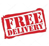 Free delivery within Regina