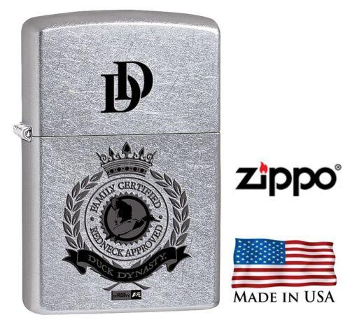 Duck Dynasty Zippo Lighter Street chrome Limited Edition 28884