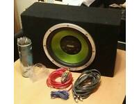Sub & Amp Package