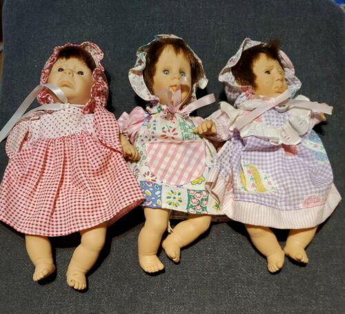 3 Gi-Go Palm Pals Bean Bag Kids 8 Dolls Different Expressions