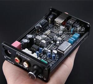 Optical/Coaxial/USB DAC 24BIT/192K HiFi Headphone Amplifier Kopfhörerverstärker