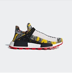 PHARRELL WILLIAMS SOLARHU NMD SHOES (Size 9.5)