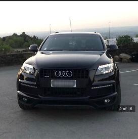 Audi Q7 3.0 TDI S-Line, Black Edition, Tiptronic Quattro. Part Ex Available