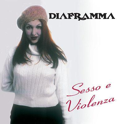 DIAFRAMMA - SESSO E VIOLENZA  - CD  NUOVO SIGILLATO