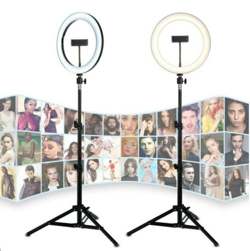 10 inch LED Ring Light includes Tripod Stand with Phone Holder Photography Video