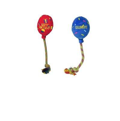 Kong Geburtstag Ballon für Hundespielzeug Rot oder Blau Medium - 6