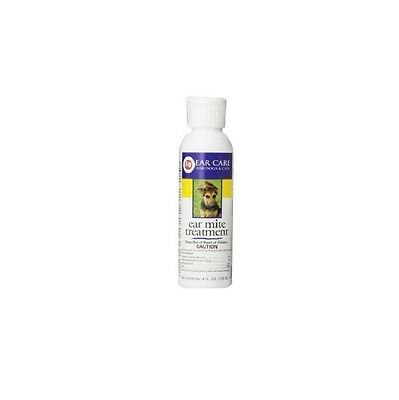 Ear Mite Treatment for Dogs & Cats - 4oz Natural Organic