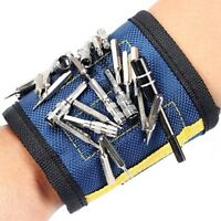 Magnetic Wrist Band with ADJUSTABLE straps  for Holding Tools