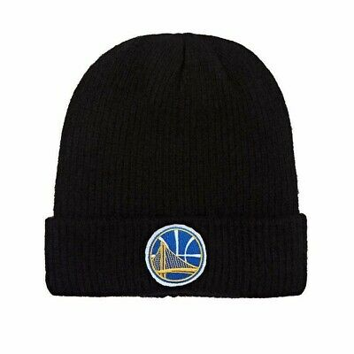 NWT $480 The Elder Statesman X NBA Golden State Warriors Logo Beanie Hat Cap