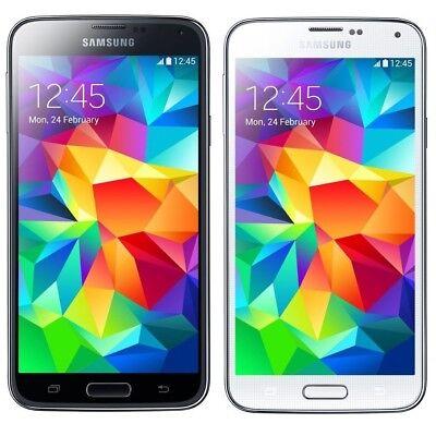 New Samsung Galaxy S5 SM-G900V 16GB Verizon + GSM Unlocked 4G LTE White Black