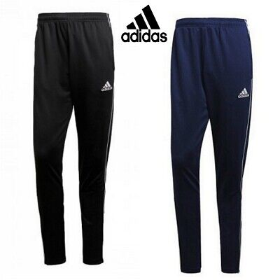 Adidas Mens Pants Core 18 Football Sports Gym Trousers Tracksuit Bottoms M L XL