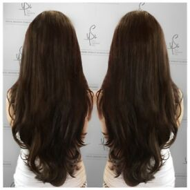 RUSSIAN VIRGIN HAIR EXTENSIONS HERTFORDSHIRE LONDON ST ALBANS LUXURY BEST MOBILE DISCREET NO DAMAGE