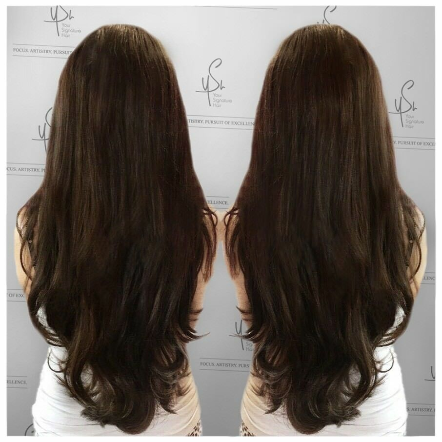 Russian Virgin Hair Extensions Surrey Mobile Luxury No Damage