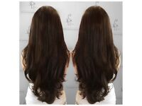 RUSSIAN HAIR EXTENSIONS *NEW SYSTEM OF BIO BONDS*INSTANT QUOTE*£50 off*02038021795