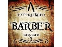 Barber required excellent rates of pay
