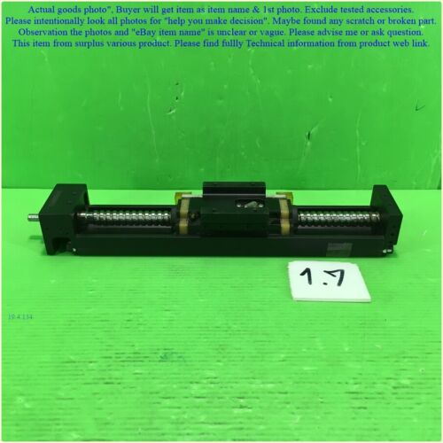 NSK MCM05010H05, Linear stage Ball screw pitch 5 mm. travel 120mm. as photo.
