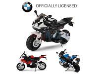 BRAND NEW KIDS BOYS BMW RED ELECGTRIC MOTORBIKE