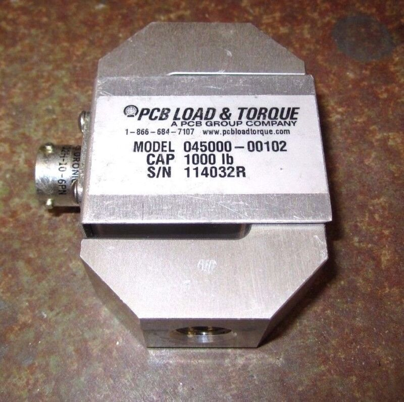 PCB L&T S-Type Load Cell, 1,000 lbf