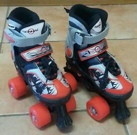 Blindside roller skates adjustable kids size 11-13 ( Christmas toy)