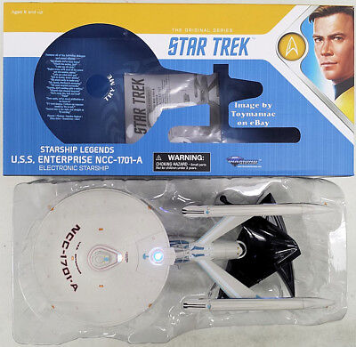 STAR TREK VI DIAMOND SELECT USS ENTERPRISE NCC 1701 A UNDISCOVERED COUNTRY SHIP segunda mano  Embacar hacia Mexico